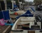 Violenta tromba d'aria a Santa Severa