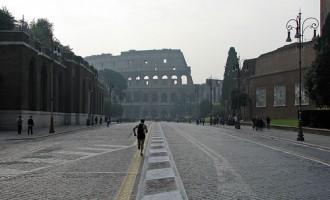 Via dei Fori Imperiali  lascierà il posto ad un grande Parco Archeologico