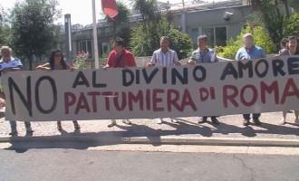 Comitati anti-discarica davanti alla Regione Lazio