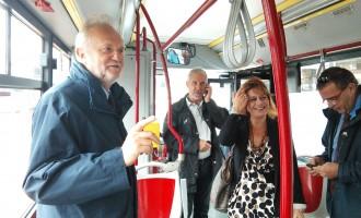 Parte il bus che collega Parco Leonardo – Fiumicino – Ospedale di Palidoro