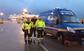 Emergenza in Sardegna: arrivato ad Olbia il primo camion di aiuti