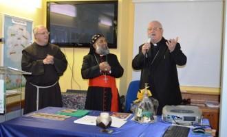 Il cardinale indiano Thottunkal in visita alla Cittadella