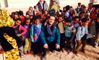 """Battilocchio col primo ministro Saharawi: """"La libertà vale più di ogni cosa"""""""
