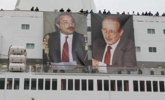 Da Civitavecchia a Palermo, la Nave della Legalità salpa contro le mafie