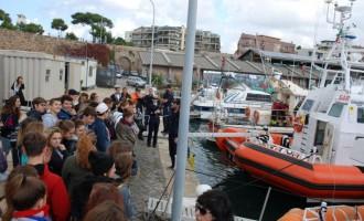 Novembre: la capitaneria di porto di Civitavecchia apre le porte agli studenti