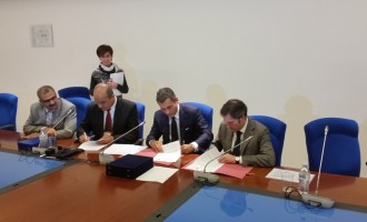 Protocollo d'intesa tra Autorità Portuale di Civitavecchia e consorzio Zai di Verona per la valorizzazione delle sinergie e lo sviluppo del trasporto Intermodale e corridoio doganale