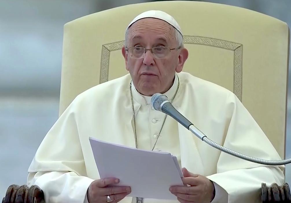 """Il Pontefice si rivolge ai bambini: """"Tutti possiamo sbagliare, anche il Papa"""""""