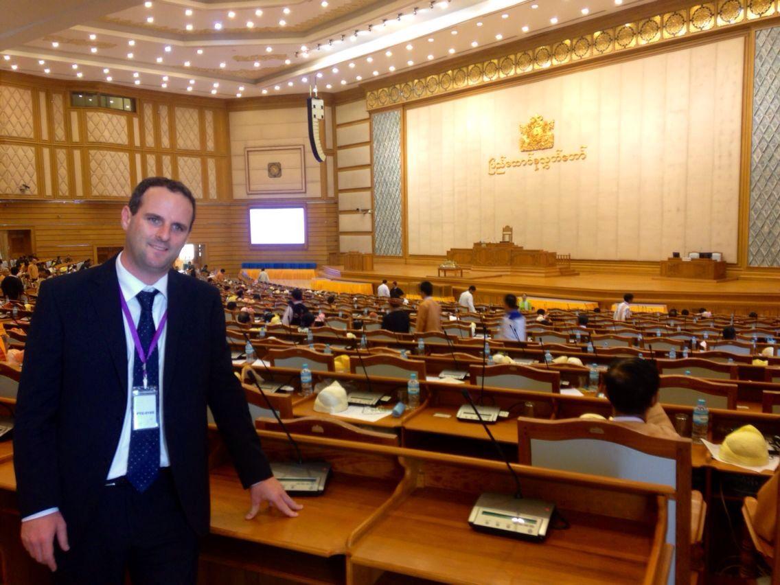 """Alessandro Battilocchio: """"In Myanmar voglia di democrazia e libertà'"""""""
