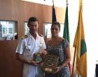 """Civitavecchia: nave scuola argentina """"Libertad"""", ricevuta in comune"""