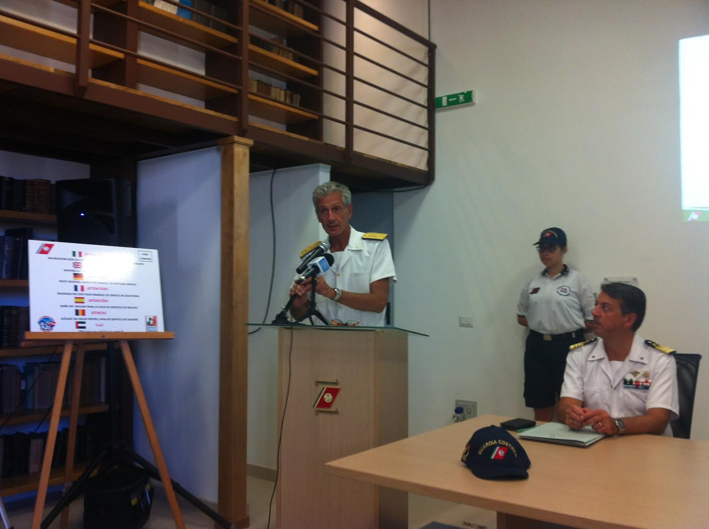 """Direzione marittima del Lazio: presentati gli ottimi risultati di """"Mare Sicuro 2016"""""""