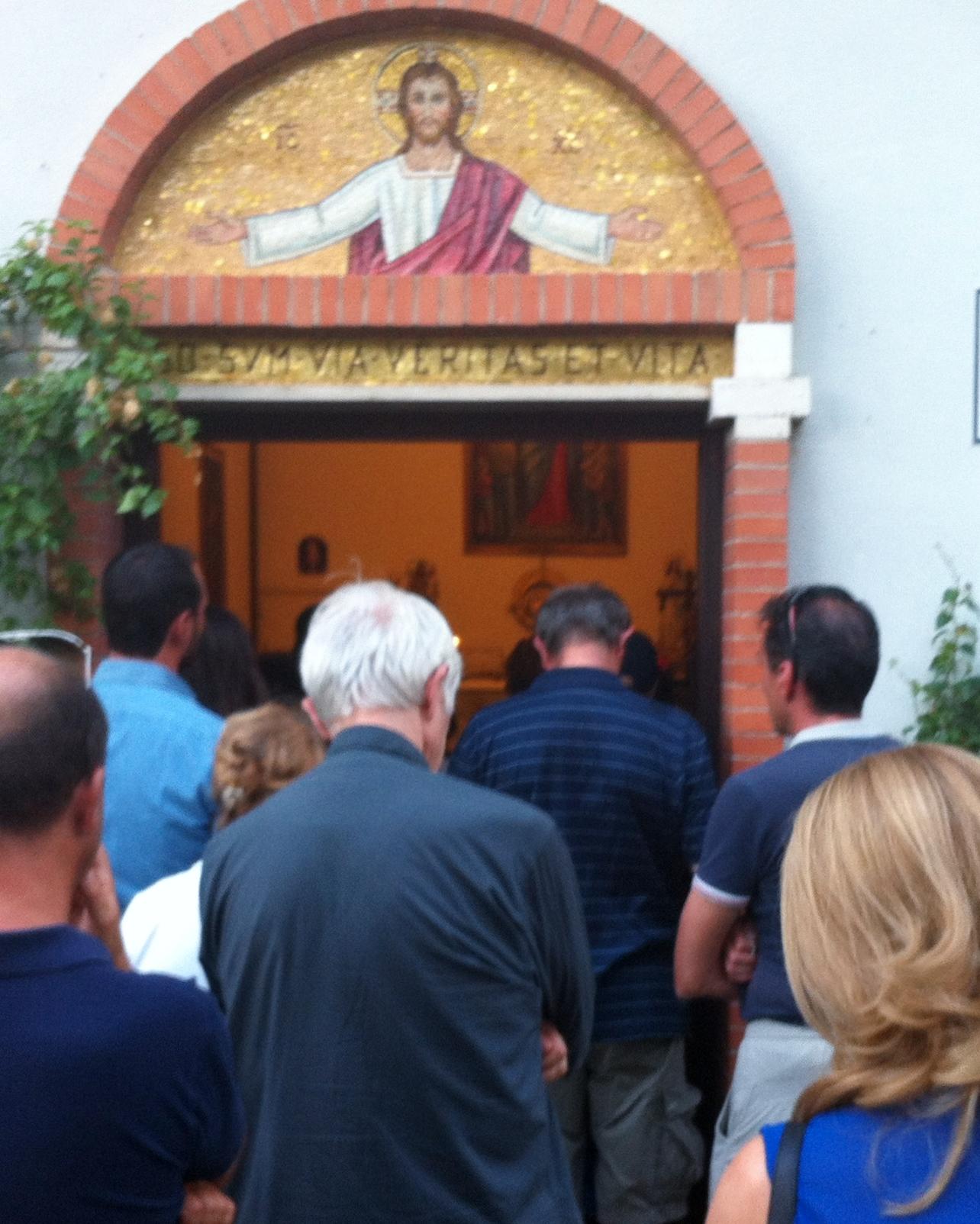La madonnina di Trevignano tra scettici e credenti