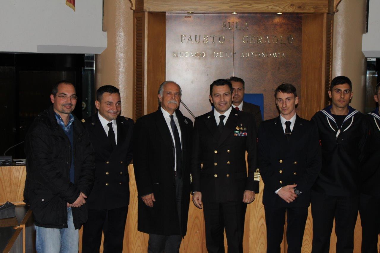 La città di Ladispoli premia la Guardia Costiera