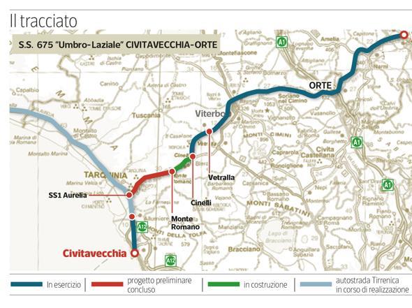"""Trasversale Orte-Civitavecchia e linea Roma-Viterbo, Panunzi (Pd): """"L'8 luglio incontro con Anas per la superstrada"""""""