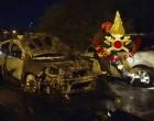Civitavecchia: a San Liborio incendiate tre auto torna la paura del piromane