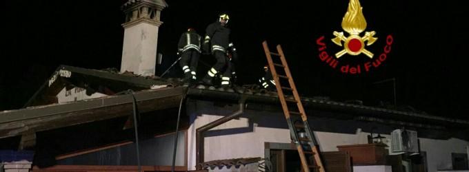 Ladispoli: incendio in un agriturismo