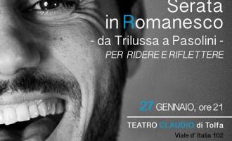 Al teatro Claudio di Tolfa arriva la serata in romanesco con Davis Tagliaferro