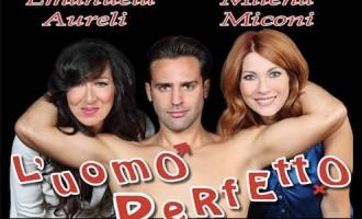 """Domani a Tolfa """"l'uomo perfetto"""" con Manuela Aureli e Milena Miconi"""
