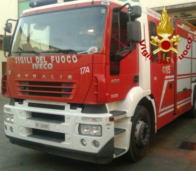 Incendio al Comune di Tolfa tempestivo intervento dei Vigili del Fuoco di Civitavecchia