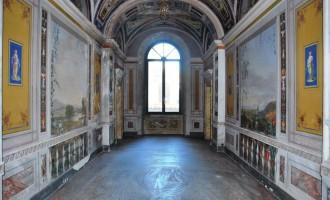 Tarquinia, partito il restauro della Sala Grande e della Galleria di palazzo Bruschi Falgari