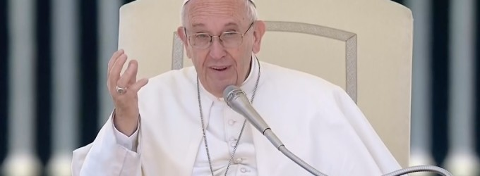 """Udienza Generale di Papa Francesco: """"Gesù è sempre accanto a noi per darci la speranza"""""""