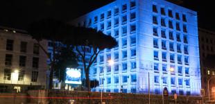 La FAO si illumina di blu per la Giornata Mondiale degli Oceani