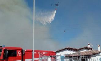"""Emergenza incendi, il Sindaco di Ladispoli: """"Aiutateci ad individuare i piromani"""""""