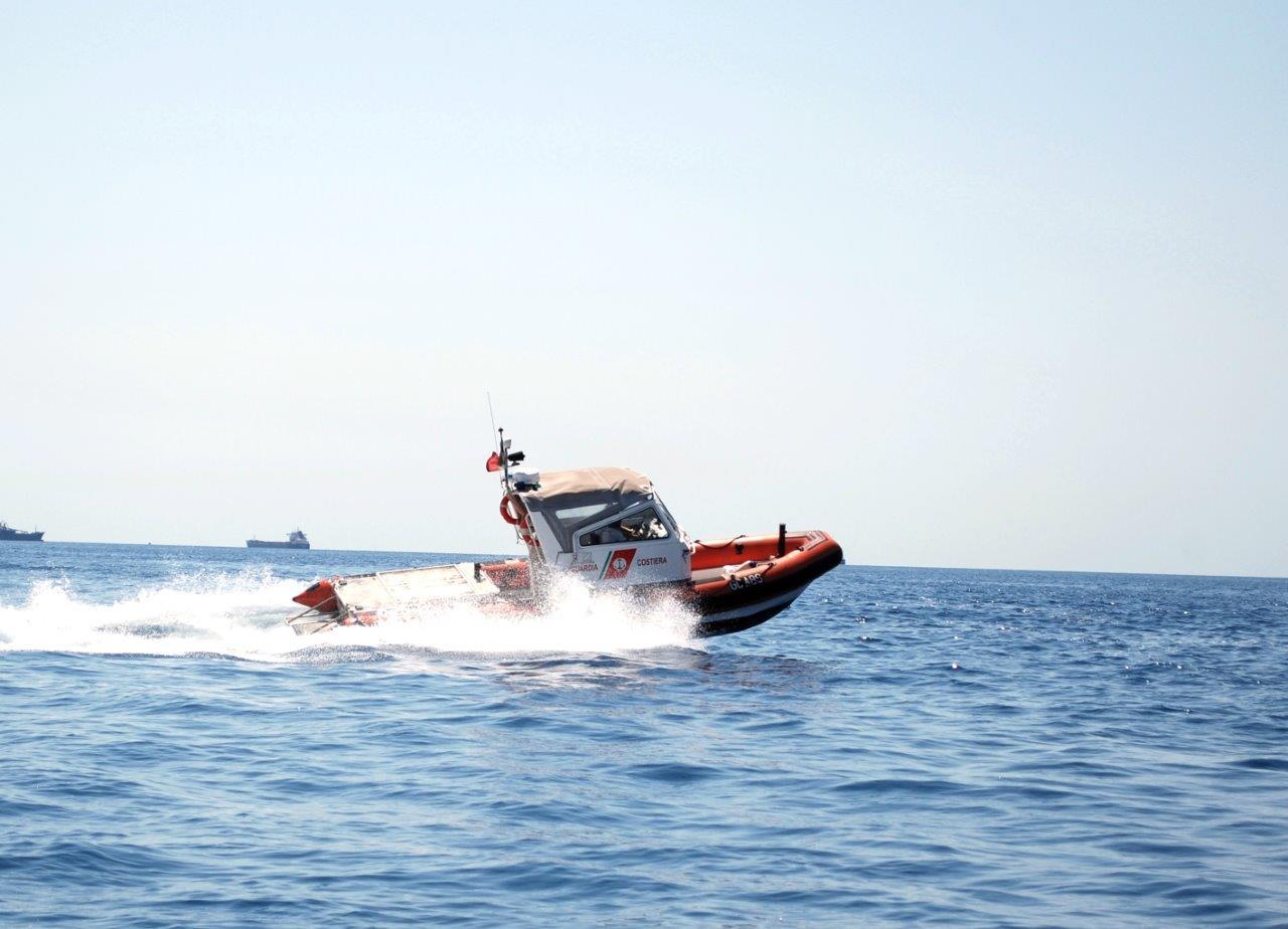 """La Guardia Costiera di Civitavecchia presenta il battello classe """"Alfa"""""""