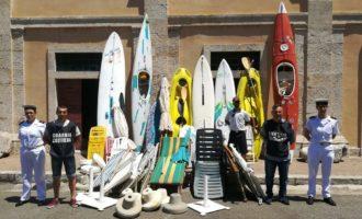 La Guardia Costiera contro l'occupazione abusiva delle spiagge