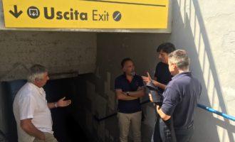 Via libera alla ristrutturazione del sottopasso ferroviario della stazione di Santa Marinella
