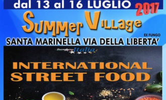 "Un weekend con Geppo Show e Oscar Biglia al ""Summer Village 2017"" a Santa Marinella"
