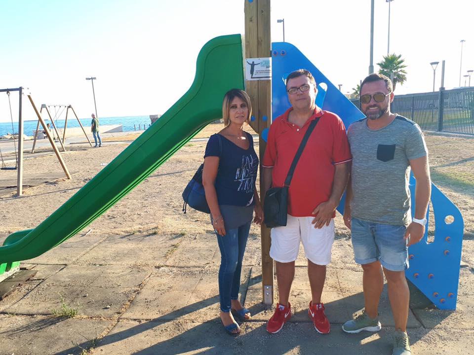 L'associazione Flavio Gagliardini regala uno scivolo alla città