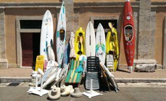 Litorale laziale: giro di vite contro l'occupazione abusiva delle spiagge