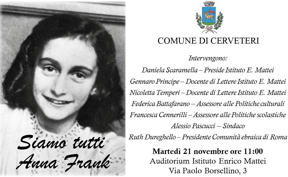La Presidente della Comunità Ebraica di Roma Ruth Dureghello a Cerveteri