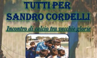 Cerveteri, una quadrangolare tra vecchie glorie del calcio locale per Sandro Cordelli