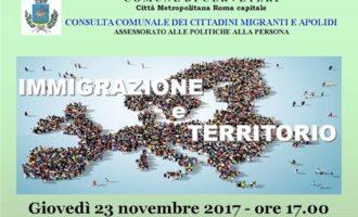 """A Cerveteri il convegno """"Immigrazione e Territorio"""""""