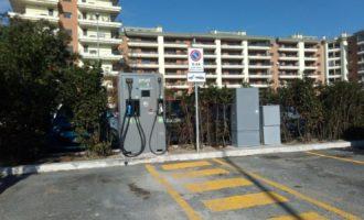 """Caroccia: """"A parco Leonardo installata la prima colonnina per auto elettriche"""""""