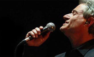 """L'otto novembre Amedeo Minghi in concerto al """"Claudio"""" di Tolfa"""