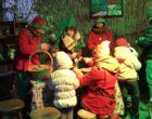 A Tolfa il freddo (e la Regione Lazio) non fermano il villaggio di Babbo Natale