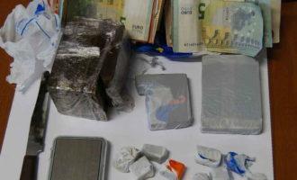 Arrestato 22enne civitavecchiese per detenzione e spaccio di hashish