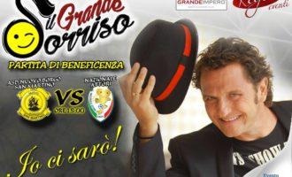 Cerveteri, anche il comico Enzo Salvi alla partita di beneficenza della Nazionale Attori