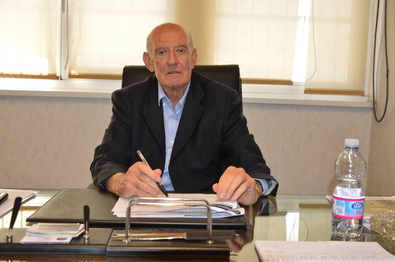 Cordoglio in città per la scomparsa dello storico presidente del Civitavecchia calcio Umberto Tersigni