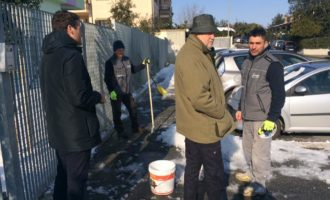 """Fiumicino, Montino: """"Grande lavoro di squadra e ottima gestione dell'emergenza neve"""""""