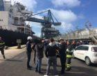 Porto di Civitavecchia, nell'incendio della nave carboniera una risposta efficace da tutti i soggetti coinvolti