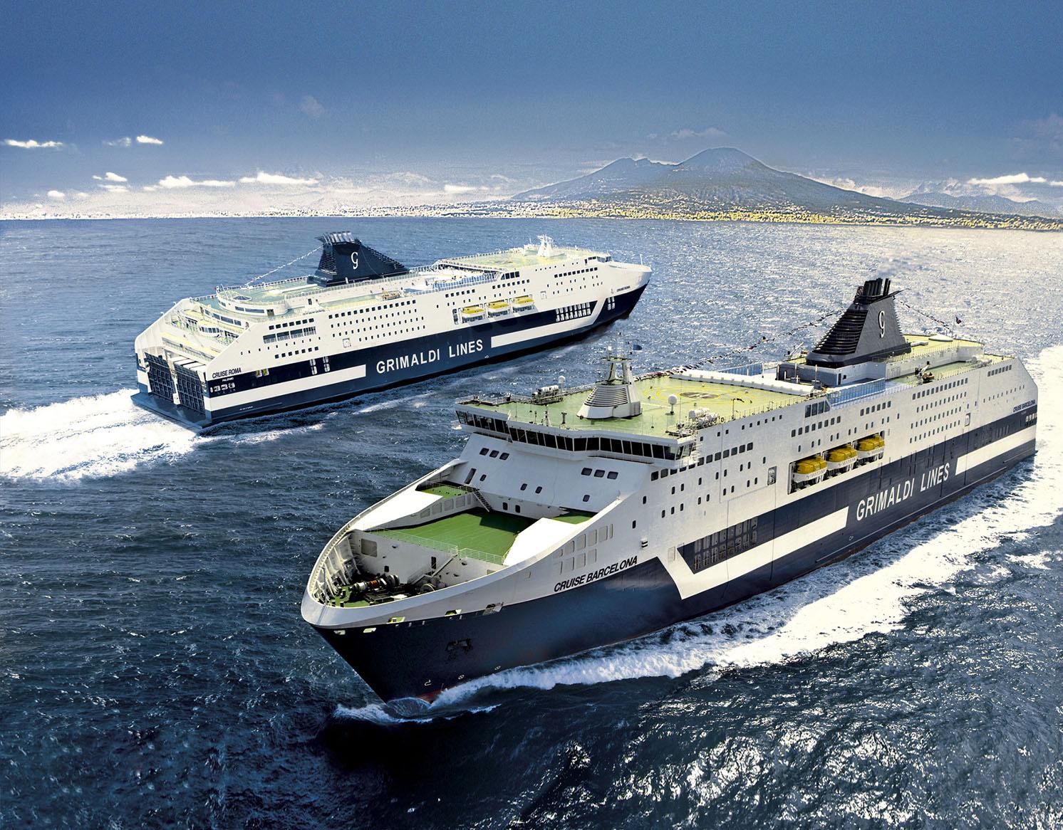 La nave dei libri pronta a salpare da Civitavecchia con direzione Barcellona