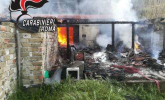 B&b distrutto da un incendio i Carabinieri salvano il figlio 15enne della proprietaria