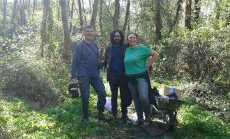 Valcanneto, un successo l'iniziativa 'Rivalutiamo il nostro bosco'