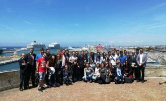 """Gli studenti della """"Sapienza"""" di Roma in visita al porto di Civitavecchia"""