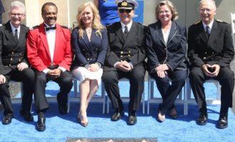 """La compagnia di crociera Princess Cruises ed il cast della serie tv """"Love Boat"""" premiati ad Hollywood"""