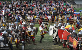 "Al Castello di Santa Severa va in scena il torneo ""Battle of nations"""