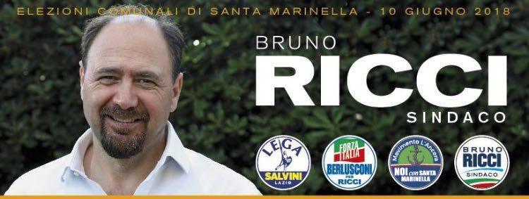 Elezioni comunali Santa Marinella il candidato Sindaco Bruno Ricci presenta il programma del centrodestra